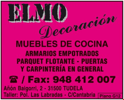 ELMO DECORACIÓN